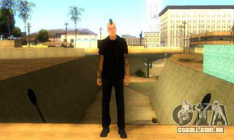 Punk (vwmycr) para GTA San Andreas