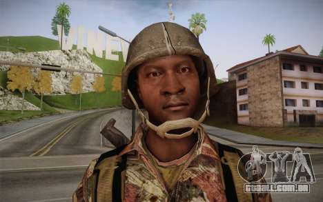 U.S. Soldier v3 para GTA San Andreas terceira tela
