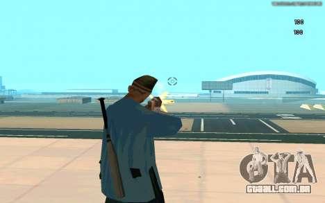 Eterna visão para GTA San Andreas por diante tela