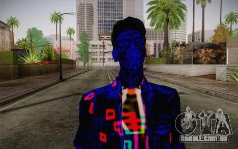 Zero VirusStyle Skin para GTA San Andreas terceira tela