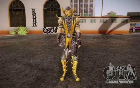 Escorpião из Mortal Kombat 9 para GTA San Andreas