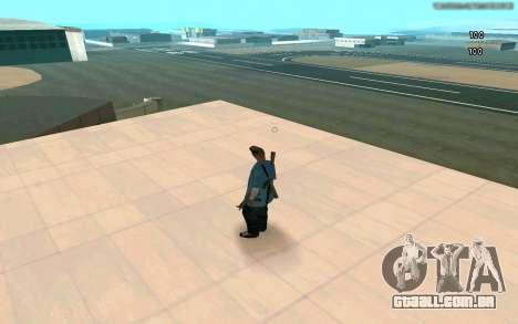 Eterna visão para GTA San Andreas segunda tela