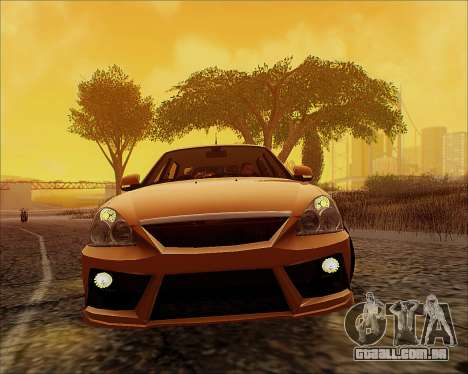 Lada 2170 Priora Tuneable para GTA San Andreas