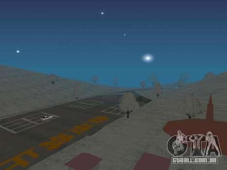 SinAkagi Snow Drift pista para GTA San Andreas