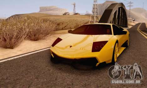 Lamborghini Murcielago LP670-4 SV para GTA San Andreas esquerda vista