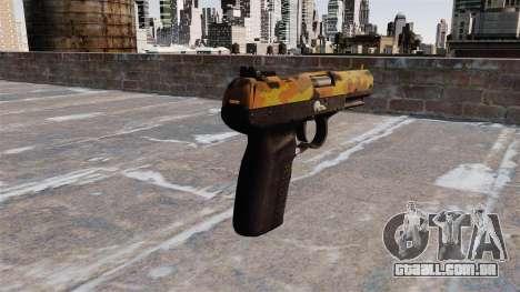 Arma FN Cinco sete Queda para GTA 4 segundo screenshot