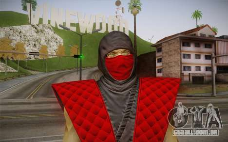 Clássico Ermac из MK9 DLC para GTA San Andreas terceira tela