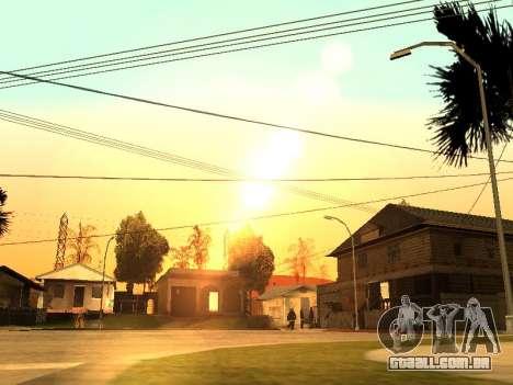 Beta Timecyc para GTA San Andreas quinto tela