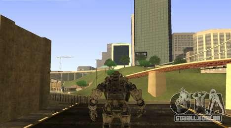 TitanFall Atlas para GTA San Andreas segunda tela