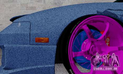 Nissan 240SX para GTA San Andreas vista inferior
