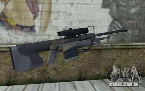 Sniper Rifle from Halo 3 para GTA San Andreas segunda tela