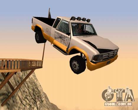 Nova Pickup para vista lateral GTA San Andreas