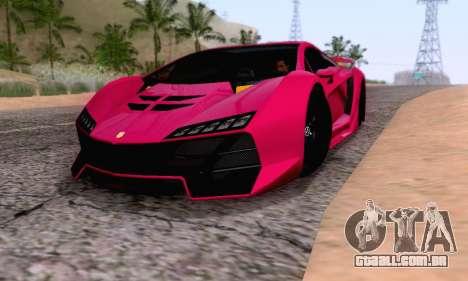 Pegassi Zentorno GTA 5 v2 para GTA San Andreas