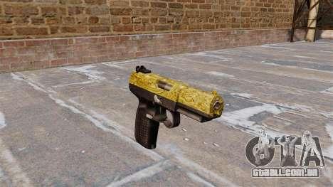Arma FN Cinco sete de Ouro para GTA 4