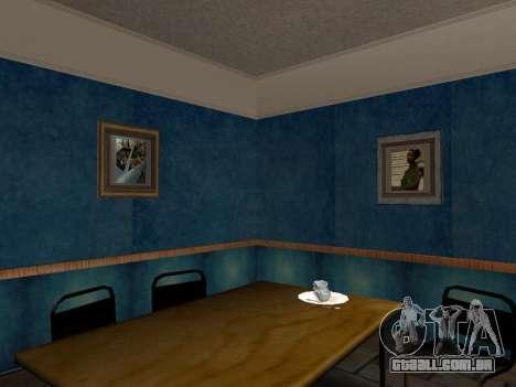 O novo interior da casa do CJ para GTA San Andreas por diante tela