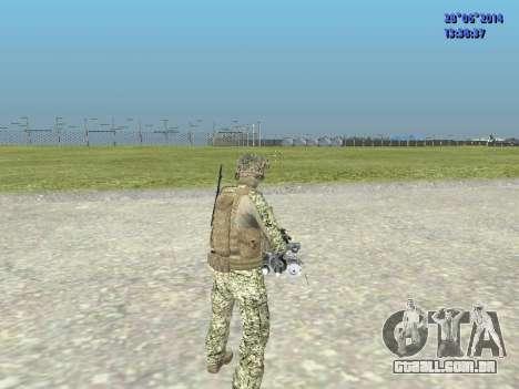 Alfa Antiterror para GTA San Andreas sétima tela