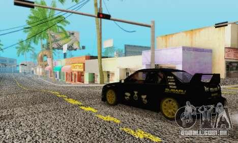 Heavy Roads (Los Santos) para GTA San Andreas por diante tela
