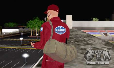 Bug Star Robbery para GTA San Andreas por diante tela