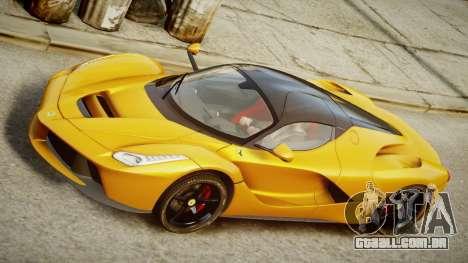 Ferrari LaFerrari v1.2 para GTA 4 traseira esquerda vista