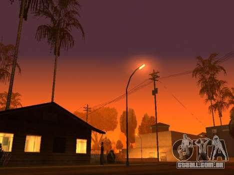 Beta Timecyc para GTA San Andreas terceira tela