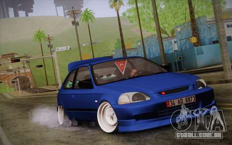 Honda Civic 1.4 BS Garage para GTA San Andreas