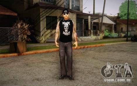 M. Shadows Skin para GTA San Andreas segunda tela