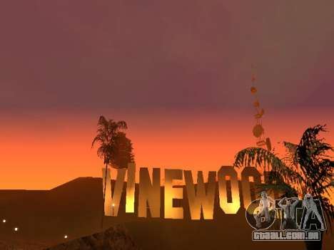 Beta Timecyc para GTA San Andreas segunda tela