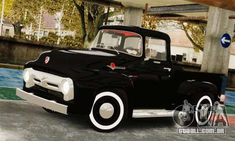 Ford F100 Hot Rod Truck 426 Hemi para GTA 4 vista direita