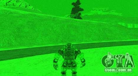 TitanFall Atlas para GTA San Andreas oitavo tela