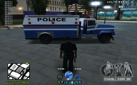C-HUD by Mr.Riko para GTA San Andreas