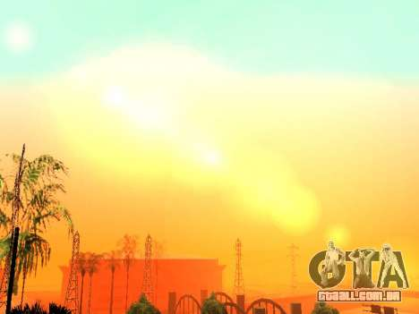 Beta Timecyc para GTA San Andreas sexta tela