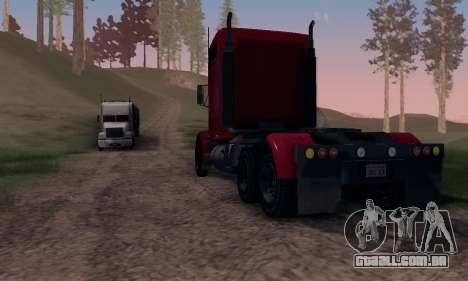 GTA V Packer para GTA San Andreas vista traseira