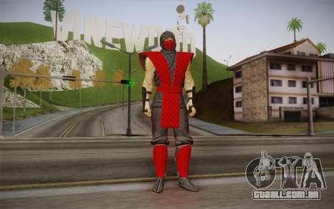 Clássico Ermac из MK9 DLC para GTA San Andreas