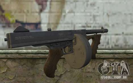 Máquina De Thompson (Deadfall Adventures) para GTA San Andreas segunda tela