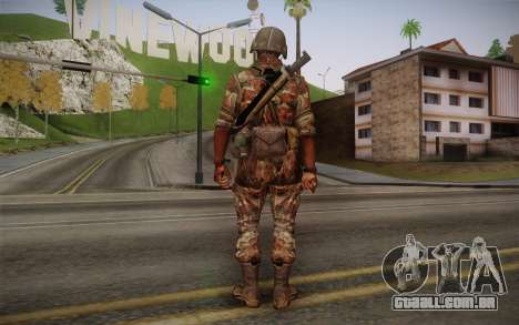 U.S. Soldier v3 para GTA San Andreas segunda tela