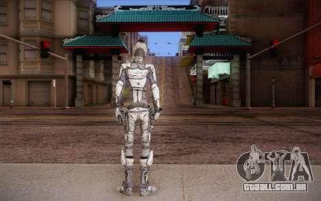Zer0 из Borderlands 2 para GTA San Andreas segunda tela