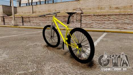 GTA V Mountain Bike para GTA 4 traseira esquerda vista