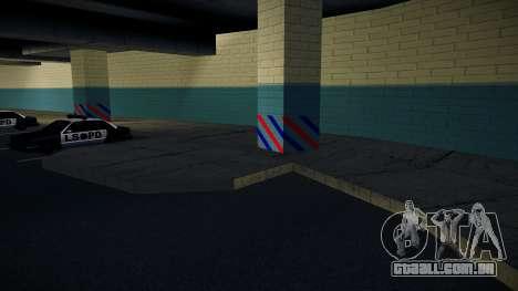 Nova garagem LSPD para GTA San Andreas terceira tela