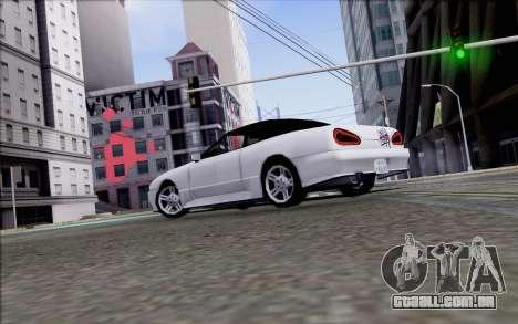 Elegy Kiss the Wall para GTA San Andreas esquerda vista