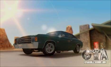 Chevrolet Chevelle SS 454 1971 para GTA San Andreas
