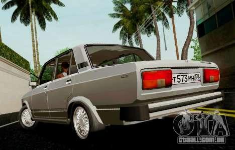 VAZ-2105 para GTA San Andreas esquerda vista
