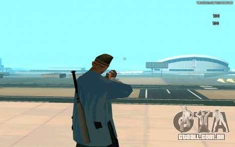 Eterna visão para GTA San Andreas terceira tela