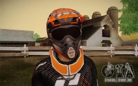 One Industries Vapor 2013 para GTA San Andreas terceira tela