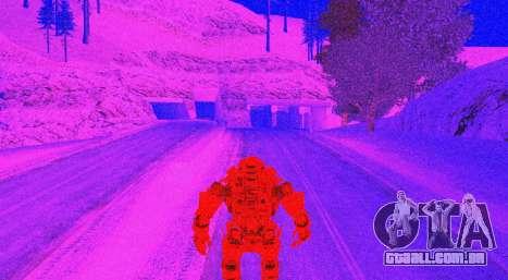TitanFall Atlas para GTA San Andreas nono tela