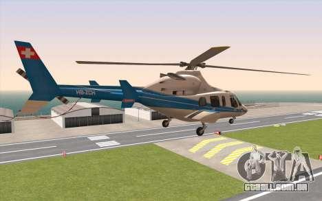 Bell 430 para GTA San Andreas esquerda vista