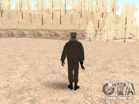 Um capitão da polícia para GTA San Andreas terceira tela