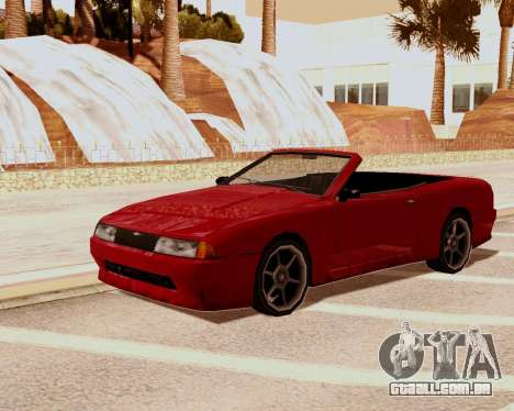 Elegia Conversível para GTA San Andreas