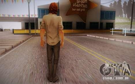 Bigby Wolf para GTA San Andreas segunda tela
