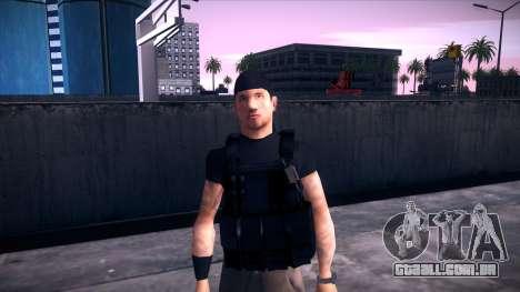 Special Weapons and Tactics Officer Version 4.0 para GTA San Andreas nono tela