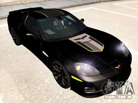 Chevrolet Corvette Grand Sport para o motor de GTA San Andreas